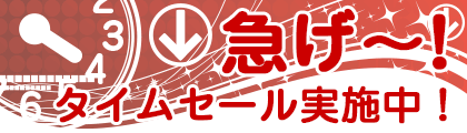 タイムセール! 2018.11.17〜18